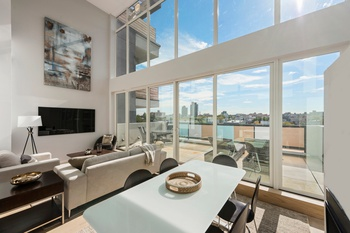 Superior Immaculate Duplex Penthouse With City Views